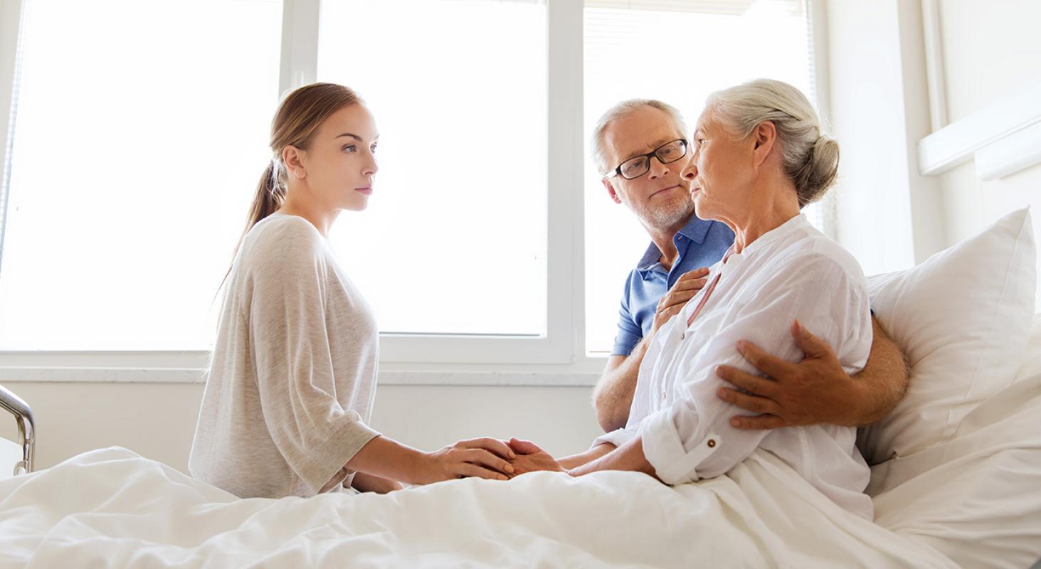 Cuidados Paliativos  y Familia para Enfermería