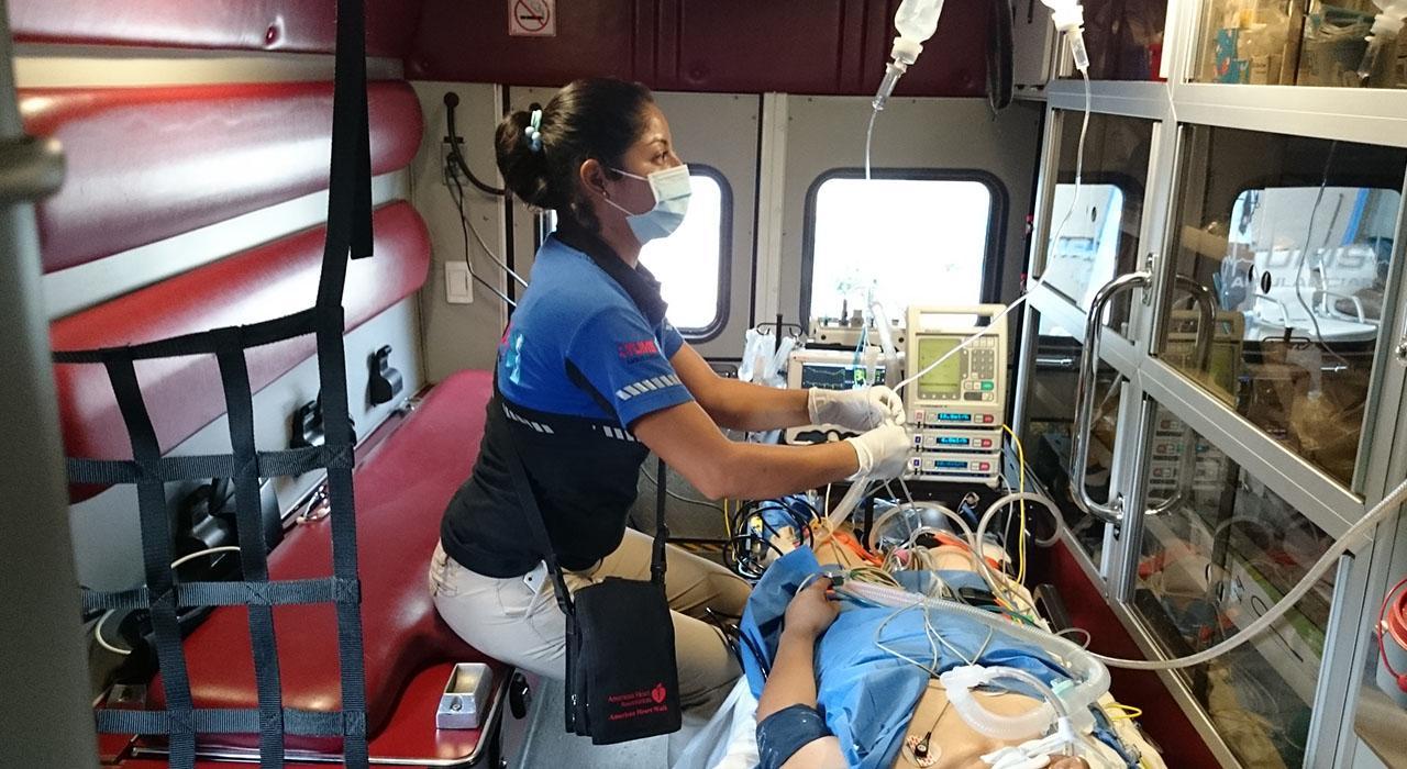 Postgrado en Gestión de Catástrofes para Enfermería