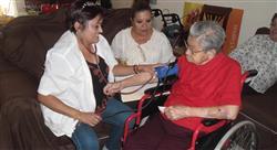 estudiar gestión clínica del paciente en hospitalización a domicilio