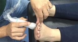 estudiar ecografía musculoesquelética de pie y tobillo para el médico rehabilitador