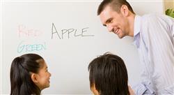 curso aprendizaje de la lengua inglesa en educación infantil