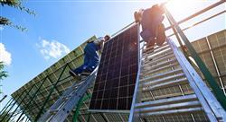 formacion sistemas de energía solar fotovoltaica conectados a red y aislados
