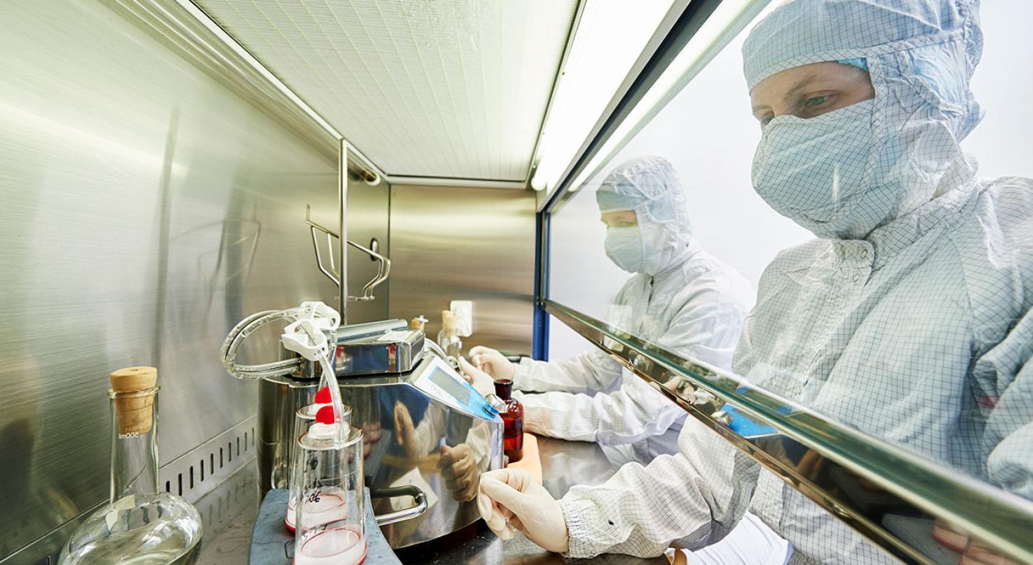 Elaboración y Desarrollo de Formas Farmacéuticas Estériles